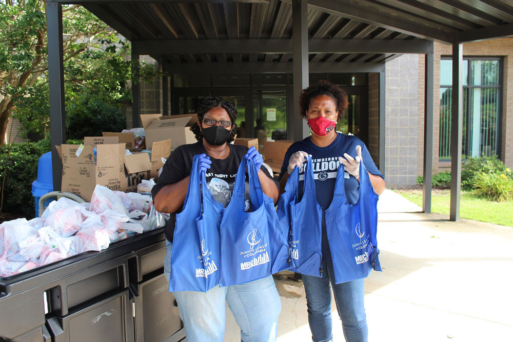 United Way of the Midlands volunteers